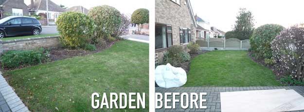 Front-garden-before