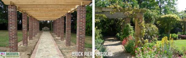 Brick-Pergola