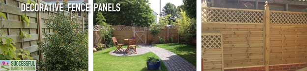 Popular garden fence styles