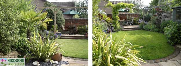 Garden makeover design tips for transforming a boring garden for Successful garden design