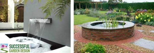 Garden ponds and water features part 1 for Successful garden design