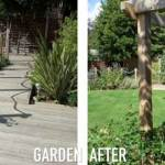 Transforming a bland square shape back garden – Case study