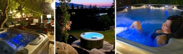 night-hot-tub