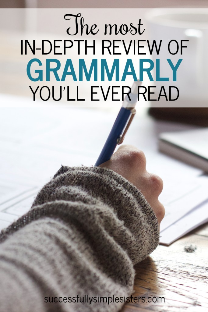 The most in-depth review of Grammarly you'll ever read.