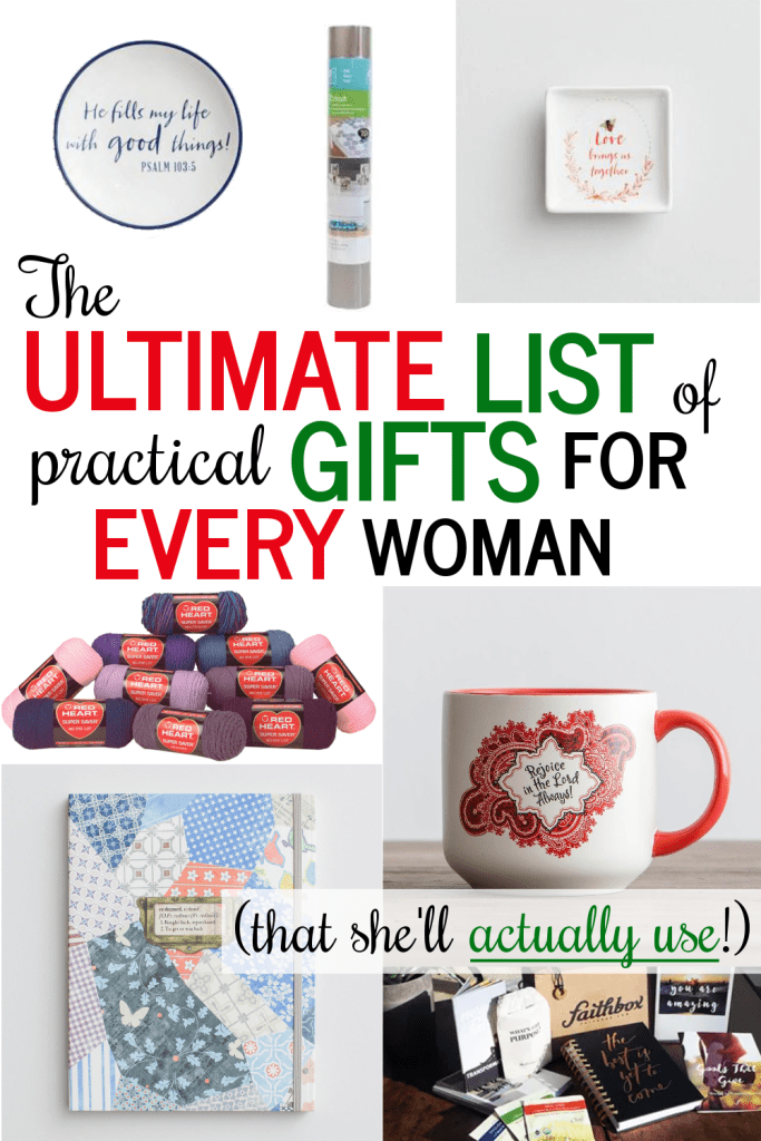 The Ultimate List of Useful Christmas Gifts for all Types of Women