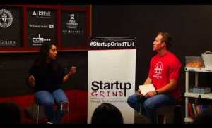 Hannah King CEO of Woven Futures at Startup Grind Tallahassee
