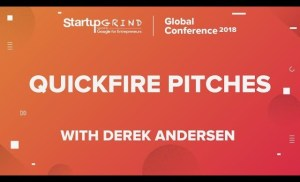 Quickfire Pitches | Day 1, Session 1