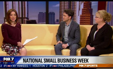 Fox 7 Segment with the Better Business Bureau for Small Business Festival