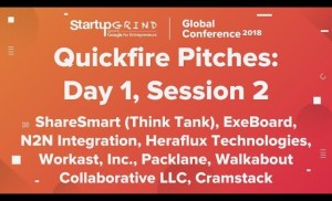 Quickfire Pitches   Day 1, Session 2
