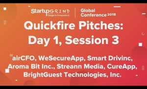 Quickfire Pitches | Day 1, Session 3