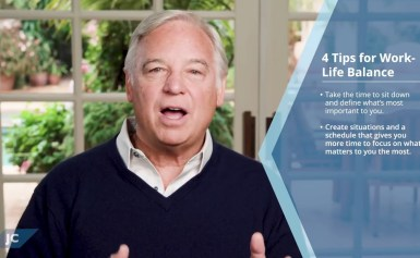 4 Tips for Work-Life Balance from Jack Canfield