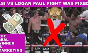 LOGAN PAUL VS KSI BOXING FIGHT WAS FIXED!?! Proof It Was Staged?