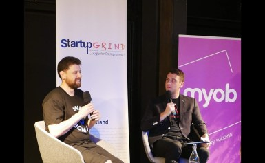 Aaron McDonald (Centrality) – Fireside Chat Auckland