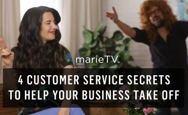 4 Customer Service Secrets to Help Your Business Take Off