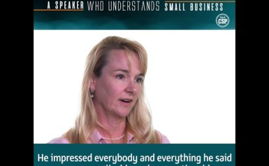 Looking for a speaker who understands small business?