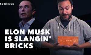 60 Second Video: Musk Drops Bricks, the Browns Eye Condi, and Facebook Friends Aren't Real