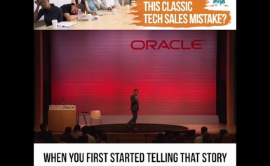 Are you making this classic tech sales mistake?
