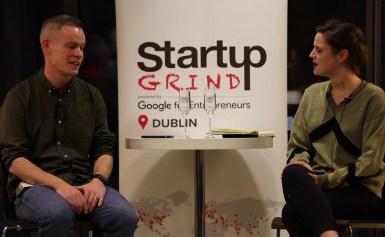 Brian Kenny (MiniCorp) at Startup Grind Dublin