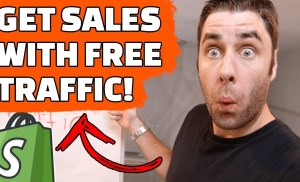 How To Make Money With Shopify Dropshipping And FREE Traffic! (2019)