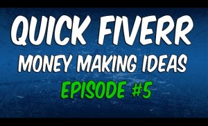 Make Money on Fiverr With 100 Words! | EP #5