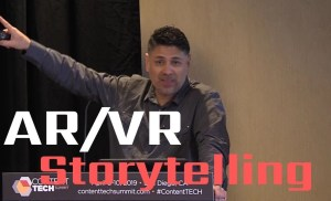 #ContentTECH 2019 – AR/VR Storytelling for Marketing – Allen Martinez