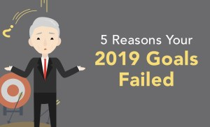 5 Reasons Why Your 2019 Goals Failed | Brian Tracy