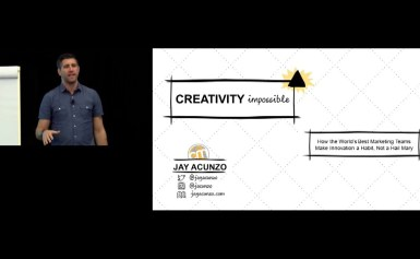 #CMWorld 2019 -Creativity Impossible: Avoid Stagnation & Exceed Expectations-(Full video) Jay Acunzo