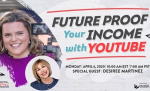 Future Proof Your Income with YouTube
