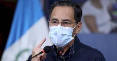 Hugo Monroy ministro de salud, habla sobre contagios con coronavirus en Guatemala