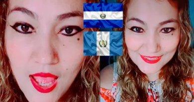 Nefasta salvadoreña se burla de la bandera de Guatemala y de las mujeres guatemaltecas, pide disculpas despues de recibir amenazas de muerte