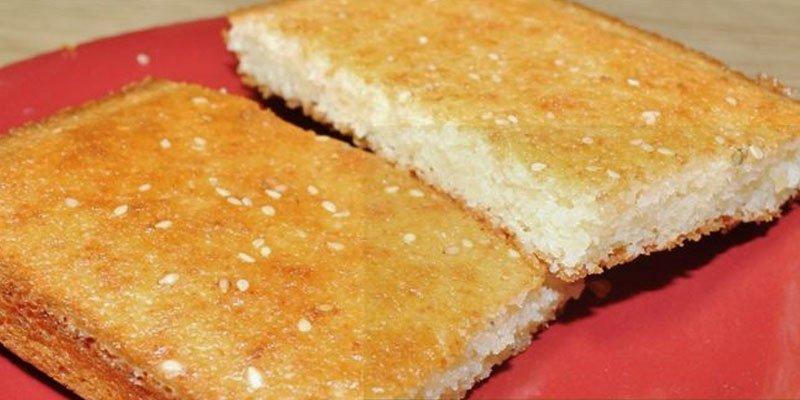 deliciosa quesadilla de arroz, un postre típico guatemalteco que encantará a todos