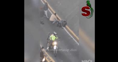 trágico accidente de transito en Guatemala zona 3 de la capital