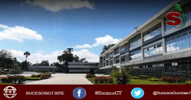 Universidad de San Carlos de Guatemala USAC, campus central sin estudiantes en un día soleado