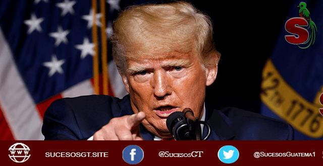 Donald Trump dice que hay que demandar a china