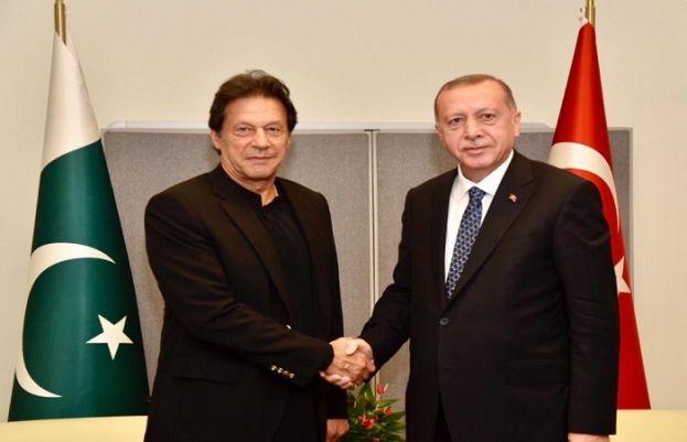 Prime Minister Imran Khan and President Recep Tayyip Erdogan