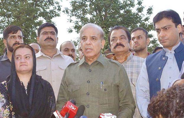 Pakistan Muslim League-Nawaz (PML-N) president Shehbaz Sharif