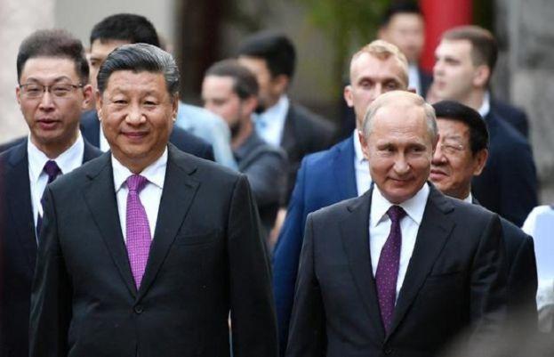 China's panda diplomacy puts a smile on 'best friend' Putin's face