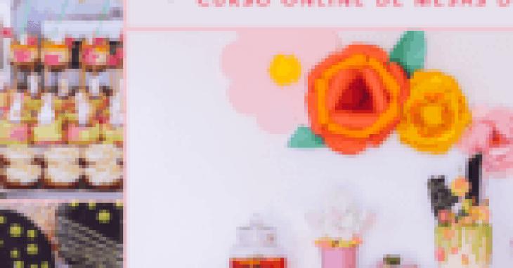 Curso de mesas dulces online