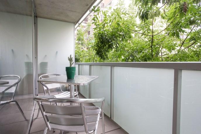 Apartamento Alquiler temporario balcon y mesa