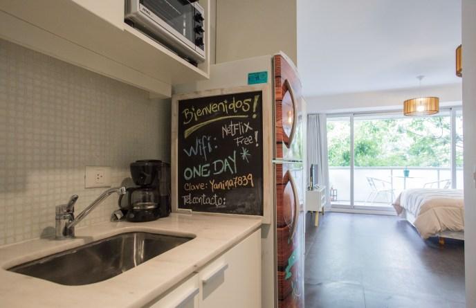 Apartamento Alquiler temporario con cocina