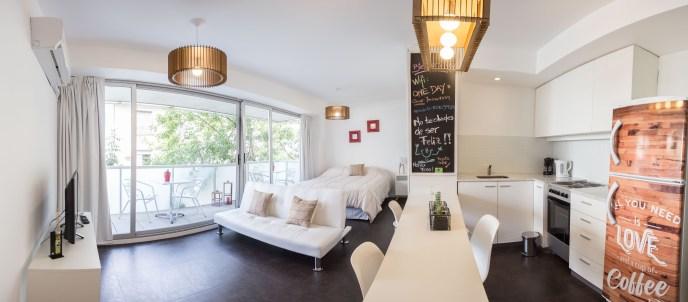 Apartamento Amoblado deluxe  cocina ampliada