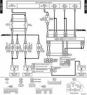 Subaru Crosstrek Service Manual  Headlight system Wiring