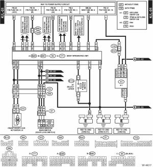 Subaru Crosstrek Service Manual  Keyless entry system