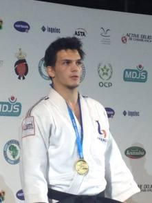 Adrien Raymond à l'African Open de Casablanca 2014