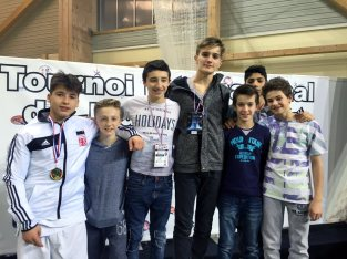 Minimes à l'Open international minimes de Harnes 2015