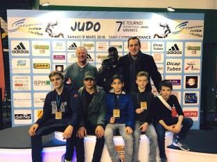 Sucy Judo au tournoi de Saint-Cyprien 2016