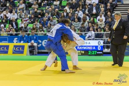 Championnat de France 1D 2016 : Adrien Raymond