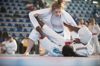 Pauline Goubet à l'Open de Ju-jitsu d'Orléans Loiret 2017
