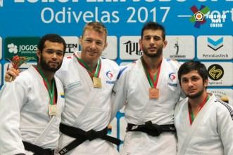 Open européen d'Odivelas 2017 - crédit : European Judo Union / Photographe: Rui Telmo Romão