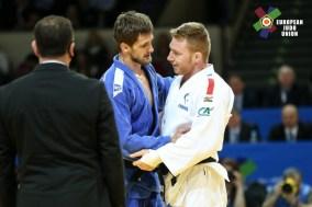 Axel Clerget au championnat d'Europe 2017 - Source : European Judo Union / Photographe : Emanuele Di Feliciantonio